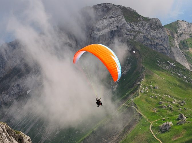 Best Paragliding Destinations in India
