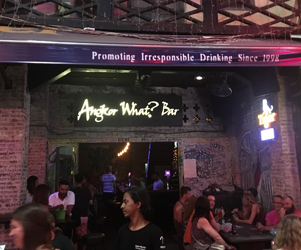 Amazing Cambodia and Thailand Trip - Angkor What Bar Pub Street Siem Reap