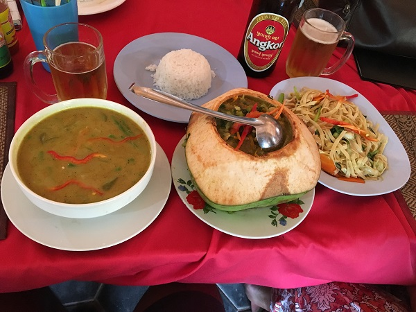 Amazing Cambodia and Thailand Trip - Coconut Amok Khmer Chicken Curry Siem Reap Cambodia
