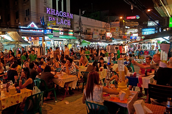 Amazing Cambodia and Thailand Trip - Khao San Road