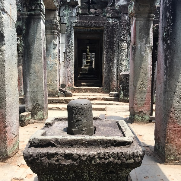Amazing Cambodia and Thailand Trip - Preah Khan Siem Reap Shiva