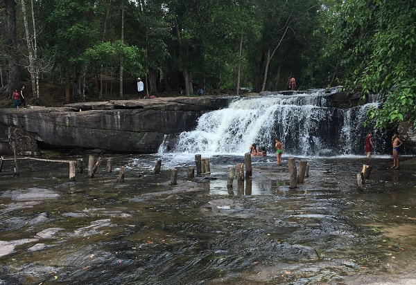 Amazing Cambodia and Thailand Trip - Waterfall at Phnom Kulen National Park