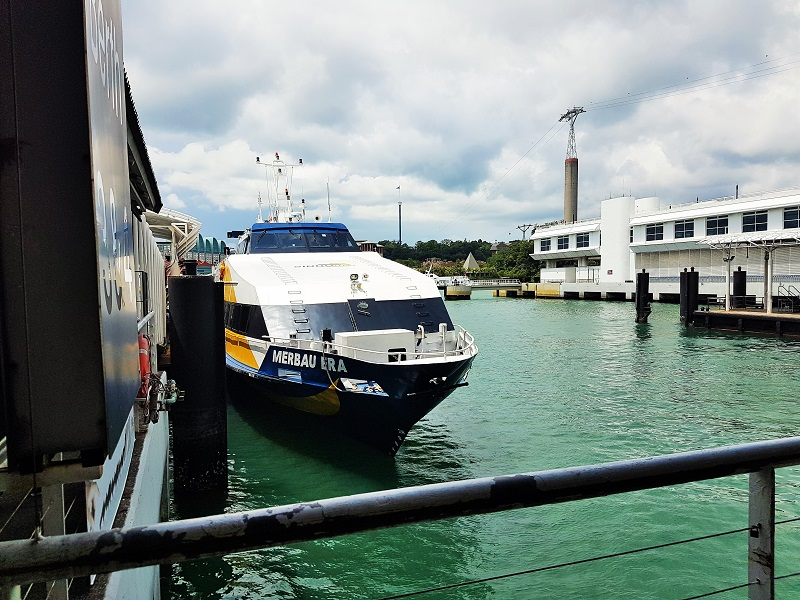 Sindo Ferry from Singapore to Batam - Journey to Batam Islands Indonesia