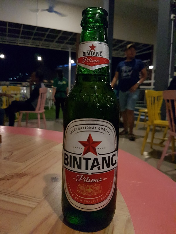 Bintang Beer- Oregano Cafe & Bar Batam Islands Indonesia