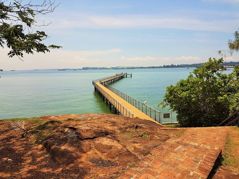 Viewing Jetty from Visitor Center- Detailed Guide to Pulau Ubin