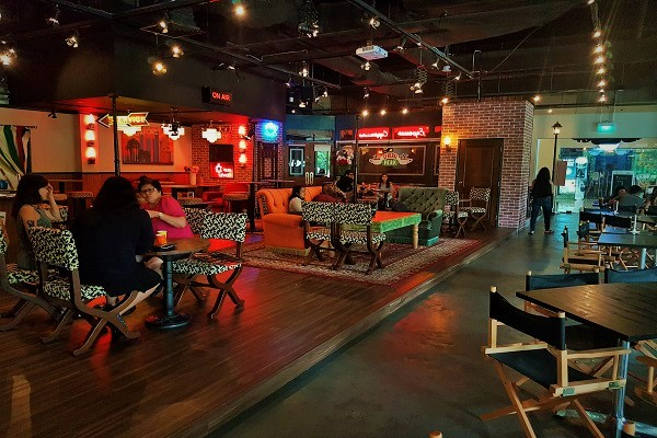 Complete Seating Area - Central Perk Singapore