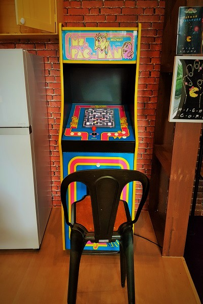 Ms Pac-Man - Central Perk Singapore