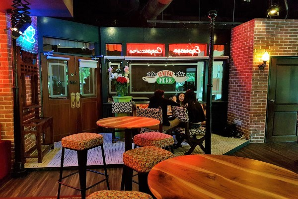 Seating Area - Central Perk Singapore
