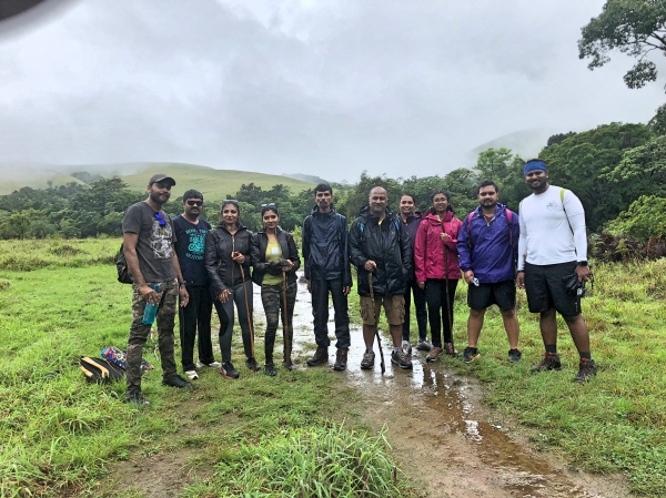 3 KM Mark - Kudremukh Trek