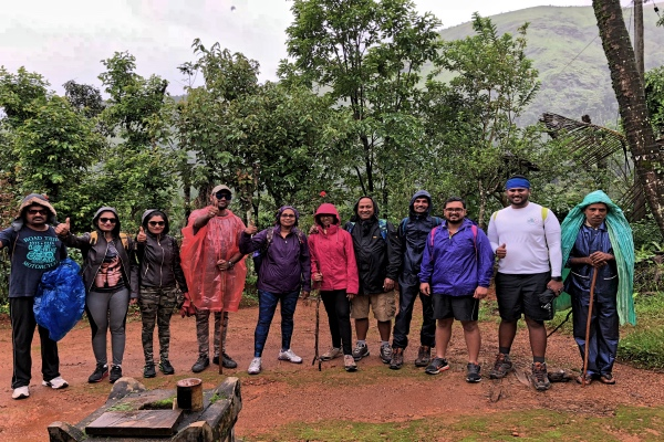 Geared Up For Trek - Kudremukh Trek