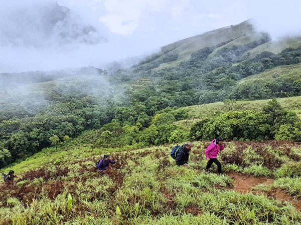 Initial Ascent - Kudremukh Trek