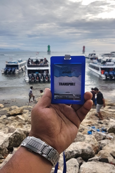 ID Card at Sanur Harbour - Nusa Penida Island Tour Bali