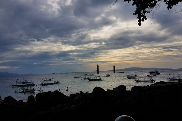 Sanur Harbour in the Morning - Nusa Penida Island Tour Bali