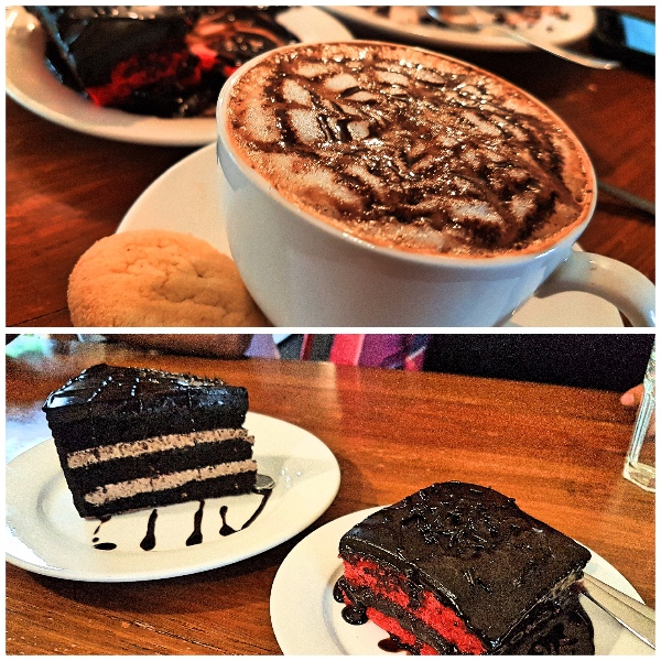 What to eat in Black Vanilla Cafe Panjim- Cafes in Goa